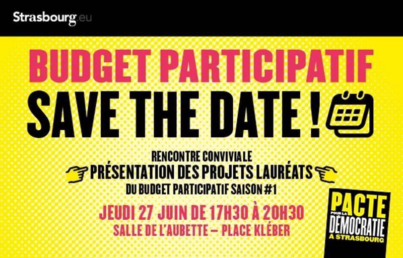 image - Présentation des projets lauréats Budget participatif saison #1