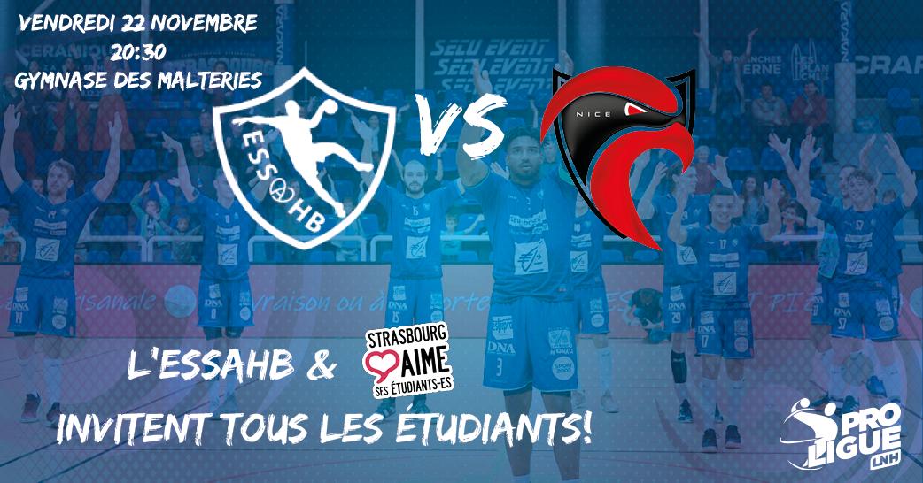 image - Match de Handball Strasbourg - Nice